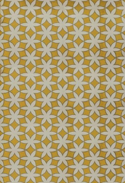 Yellow, Cream (Guys and Dolls) Outdoor / Indoor Area Rug