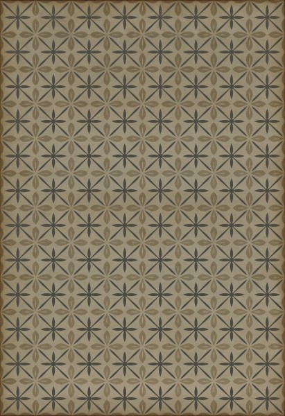 Cream, Distressed Grey (Dining Car) Outdoor / Indoor Area Rug