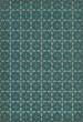 Product Image of Outdoor / Indoor Blue, Cream (Oceanside Inn) Area Rug
