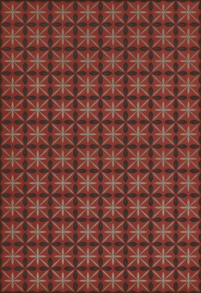 Red, Black, Grey (The Atomic Diner) Outdoor / Indoor Area Rug
