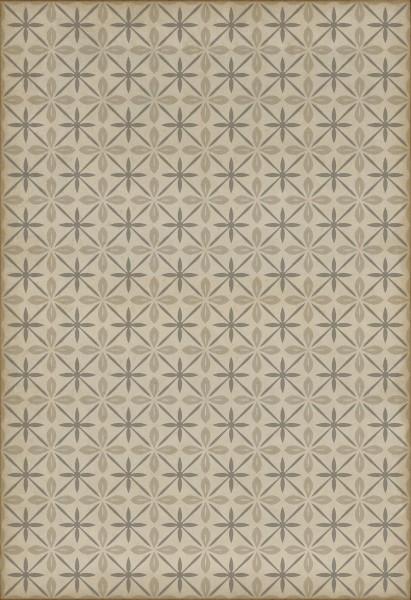 Cream, Distressed Grey (The Carhop) Contemporary / Modern Area Rug