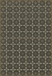 Product Image of Outdoor / Indoor Distressed Black, Cream, Grey (The Transport Cafe) Area Rug
