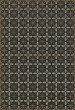 Product Image of Outdoor / Indoor Black, Cream, Grey (The Transport Cafe) Area Rug