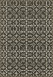 Product Image of Outdoor / Indoor Distressed Black, Cream (Uptown Diner) Area Rug