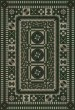 Product Image of Outdoor / Indoor Green, Black, Grey (Captain of My Soul) Area Rug