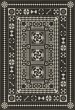 Product Image of Outdoor / Indoor Black, Grey (War and Peace) Area Rug
