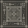 Product Image of Black, Grey (War and Peace) Outdoor / Indoor Area Rug