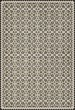 Product Image of Outdoor / Indoor Black, Beige, Yellow (A Field of Cotton) Area Rug