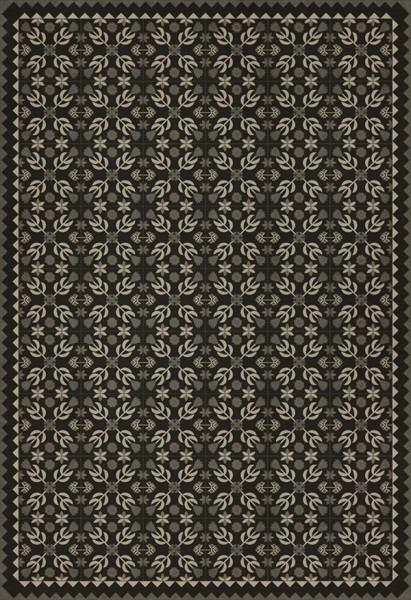 Black, Grey (Awake at Night) Outdoor / Indoor Area Rug