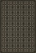 Product Image of Outdoor / Indoor Black, Grey (Awake at Night) Area Rug