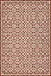 Product Image of Outdoor / Indoor Beige, Red (This Old Village) Area Rug