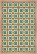 Product Image of Outdoor / Indoor Green, Orange, Beige (Adelaide) Area Rug
