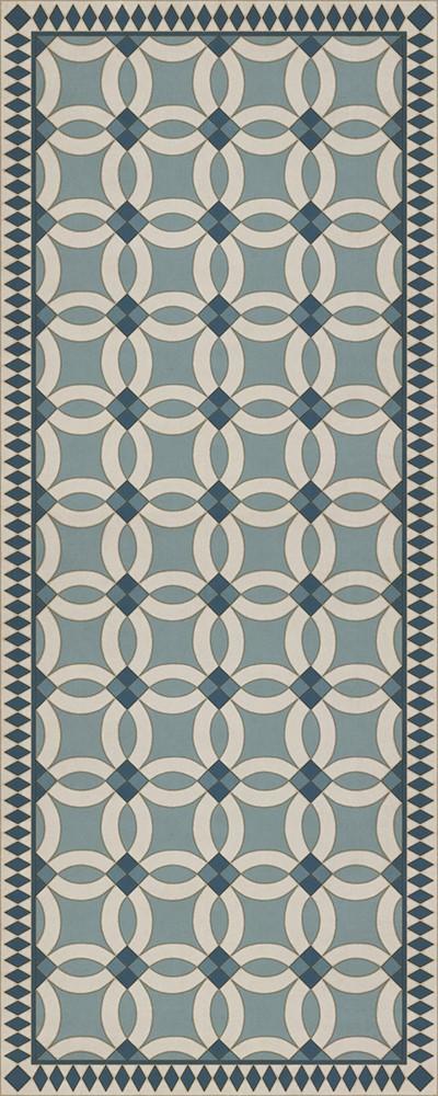 Blue, Beige (Evangeline) Outdoor / Indoor Area Rug
