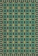 Product Image of Outdoor / Indoor Green, Black, Beige (Felicity) Area Rug
