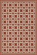 Product Image of Outdoor / Indoor Red, Beige (Hester) Area Rug