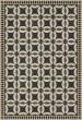 Product Image of Outdoor / Indoor Black, Beige (Imogen) Area Rug
