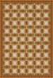 Product Image of Outdoor / Indoor Red, Yellow, Beige (Leonora) Area Rug
