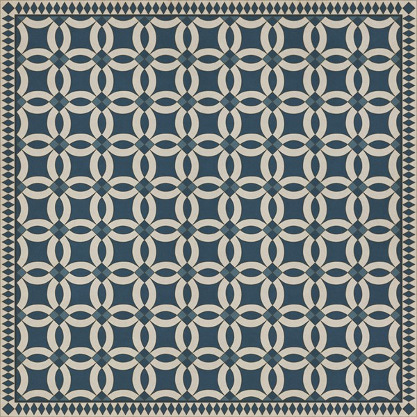 Blue, Beige (Philippa) Outdoor / Indoor Area Rug