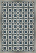 Product Image of Outdoor / Indoor Blue, Beige (Philippa) Area Rug