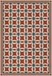 Product Image of Outdoor / Indoor Beige, Red, Blue (Ramona) Area Rug