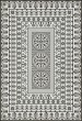 Product Image of Outdoor / Indoor Beige, Distressed Black (To the Moon) Area Rug