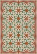 Product Image of Outdoor / Indoor Beige, Red, Green (Contemplation) Area Rug