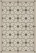 Product Image of Outdoor / Indoor Beige, Grey, Black (Meditations Divine and Moral) Area Rug
