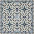 Product Image of Beige, Blue (The Day Has Eyes) Outdoor / Indoor Area Rug