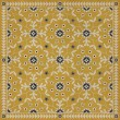 Product Image of Yellow, Beige, Black (The Miser and the Poet) Outdoor / Indoor Area Rug