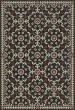 Product Image of Outdoor / Indoor Black, Beige, Red (Time Takes It All) Area Rug
