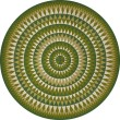 Product Image of Outdoor / Indoor Green (Forever Outward) Area Rug