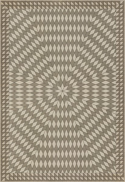 Beige (With the Earth and the Sky) Outdoor / Indoor Area Rug