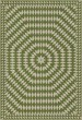 Product Image of Outdoor / Indoor Green, Beige (Over the Prairies) Area Rug