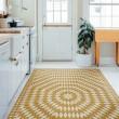 Product Image of Yellow, Beige (The Sun has Risen) Outdoor / Indoor Area Rug