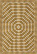 Product Image of Outdoor / Indoor Yellow, Beige (The Sun has Risen) Area Rug