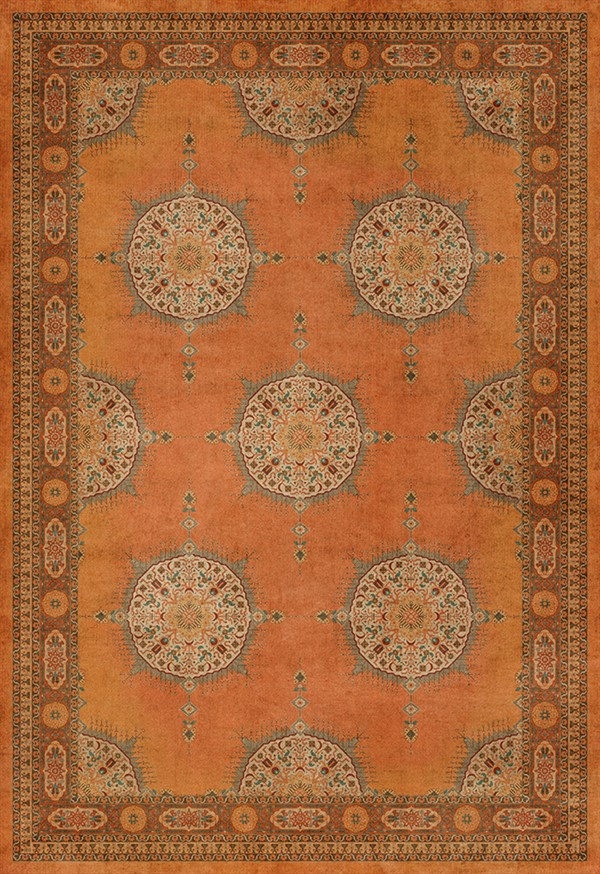 Orange (Zurvan) Outdoor / Indoor Area Rug