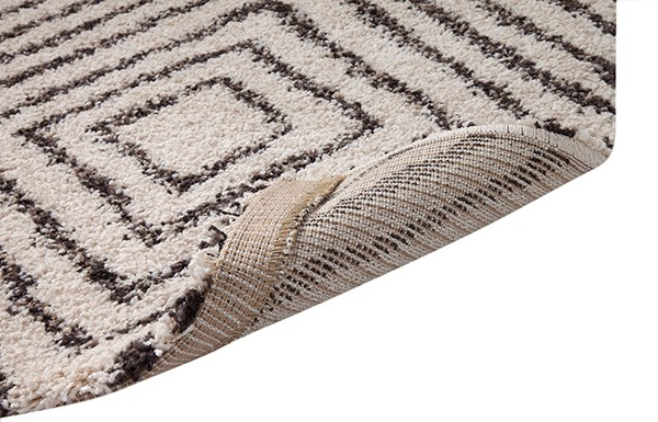 Ivory, Chocolate (2505) Transitional Area Rug