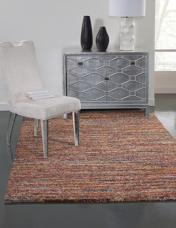 Red (2520) Transitional Area Rug