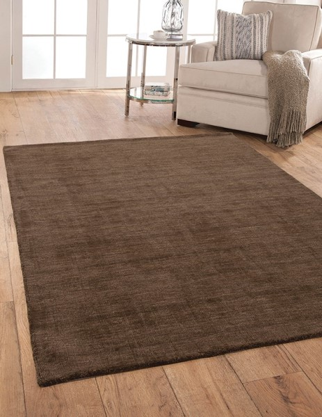 Brown (4508) Solid Area Rug