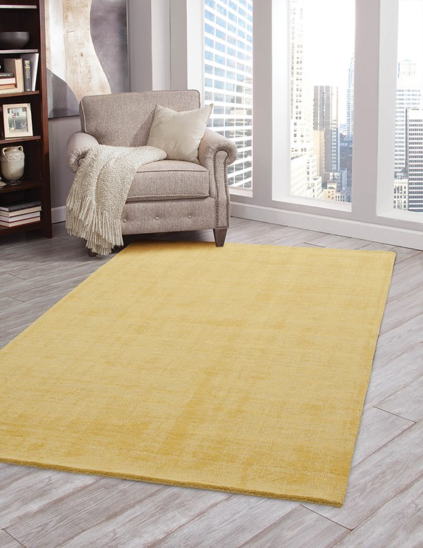 Yellow (4504) Solid Area Rug