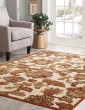 Product Image of Ivory, Brown, Tan, Sage (6047) Traditional / Oriental Area Rug