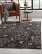 Product Image of Chocolate, Beige, Black (7022) Transitional Area Rug