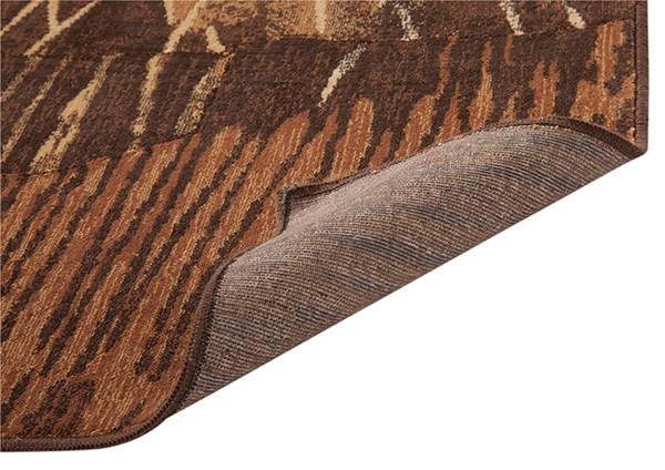 Rust, Brown, Gold (7033) Southwestern / Lodge Area Rug