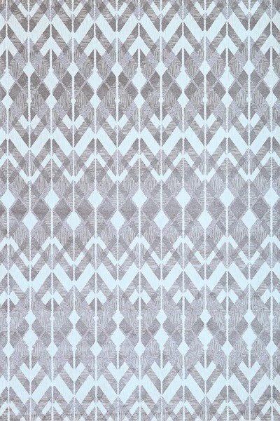 Silver Grey, Charcoal, White (7132) Contemporary / Modern Area Rug