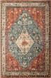 Product Image of Traditional / Oriental Aqua, Celadon, Rust, Tan (7068) Area Rug