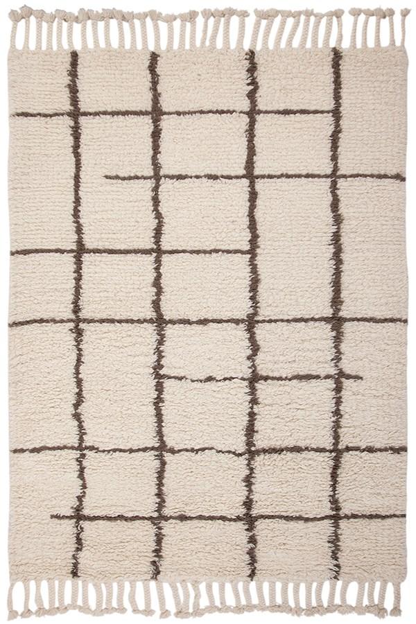 Berber, Off White (4901) Shag Area Rug