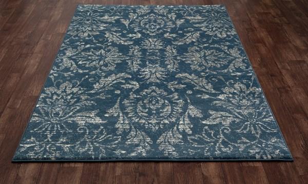 Blue, Linen (AR-0160) Traditional / Oriental Area Rug