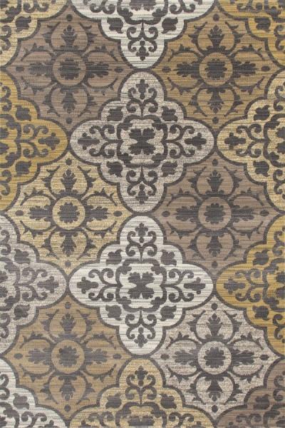Yellow, Gray, Linen (AR-011) Moroccan Area Rug