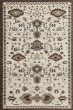 Product Image of Traditional / Oriental Cream, Blue (AR-038) Area Rug