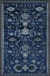 Product Image of Traditional / Oriental Navy, Blue, Linen (AR-039) Area Rug